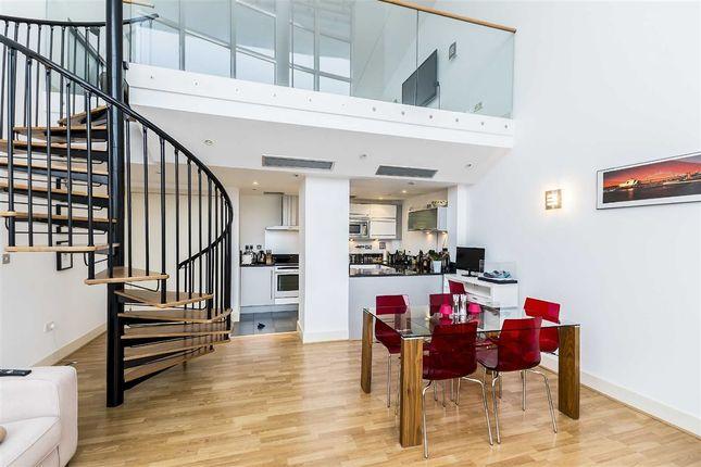 Thumbnail Flat to rent in Crews Street, London