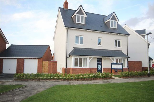 Thumbnail Detached house for sale in Tadpole Rise, Swindon, Wiltshire
