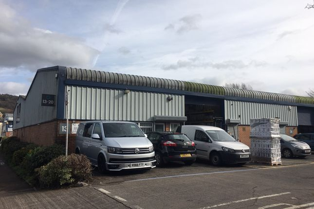 Thumbnail Industrial to let in Unit 13, Mill Street Industrial Estate, Abergavenny