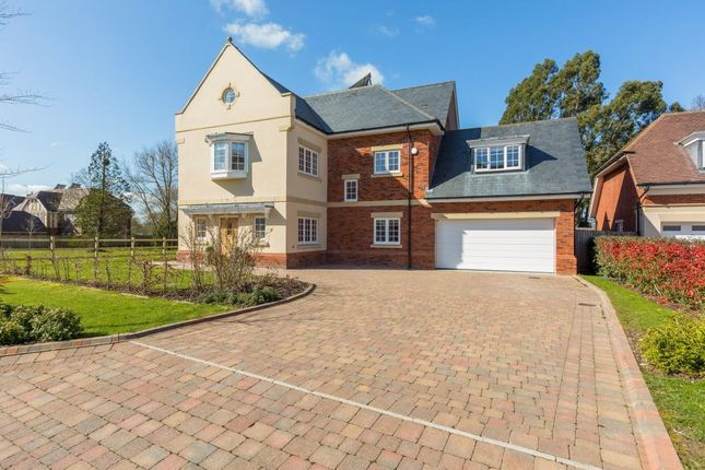 Thumbnail Detached house to rent in Montague Park, Winkfield, Windsor
