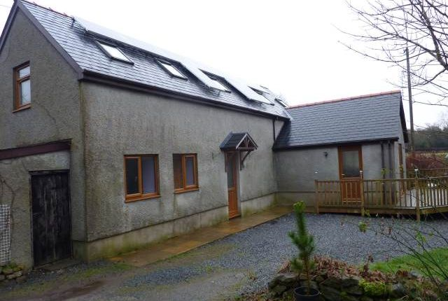 Thumbnail Detached house to rent in Llangynog, Carmarthen