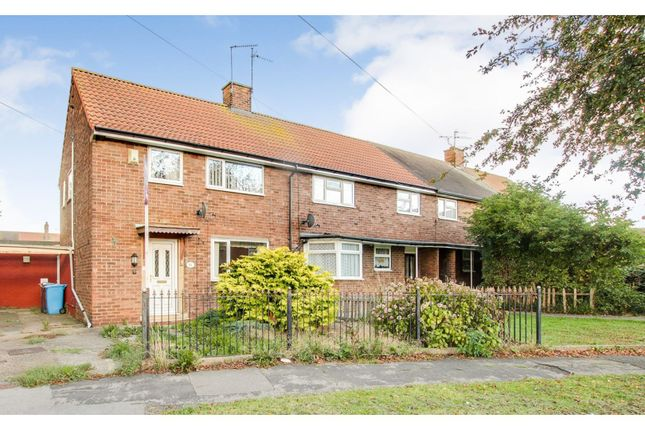 Thumbnail End terrace house for sale in Hermes Close, Hull
