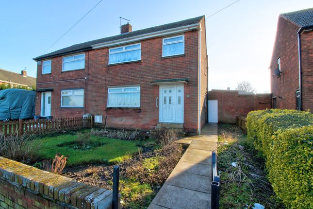 3 bed semi-detached house for sale in Brenkley Avenue, Shiremoor, Newcastle Upon Tyne NE27