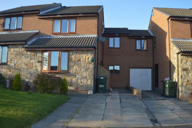 Thumbnail Semi-detached house to rent in Moor Grange, Prudhoe
