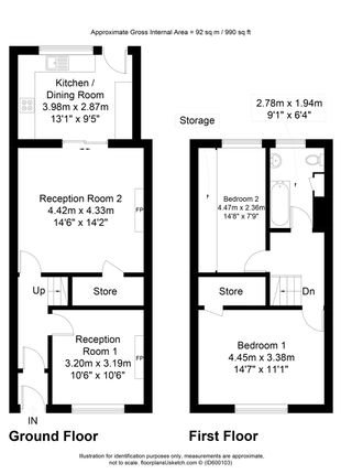 Floorplan of Whalley Road, Clayton Le Moors, Accrington, Lancashire BB5