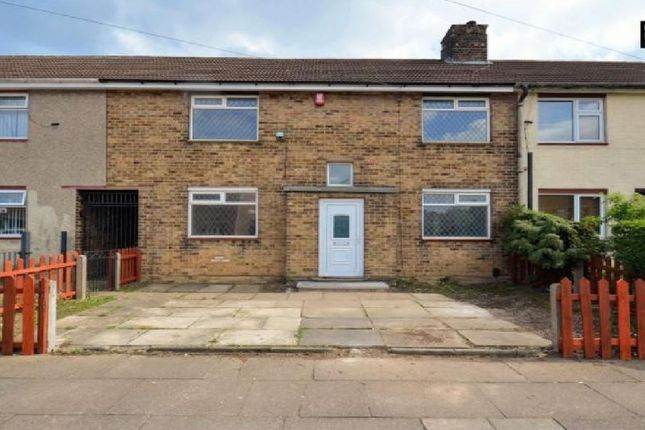 3 bed terraced house to rent in Caistor Drive, Grimsby DN33