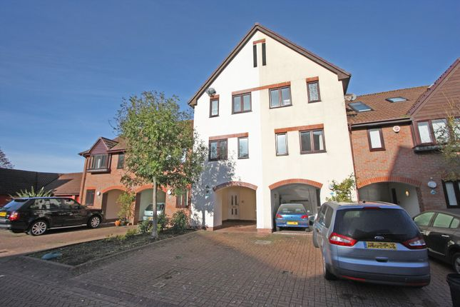 Thumbnail Town house to rent in Carne Place, Port Solent, Portsmouth