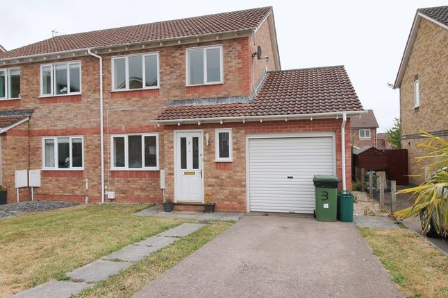 Thumbnail Semi-detached house for sale in Clos Pinwydden, Llanharry