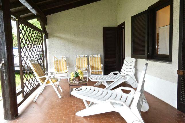 Porch of Via Case Sparse, Domaso, Como, Lombardy, Italy