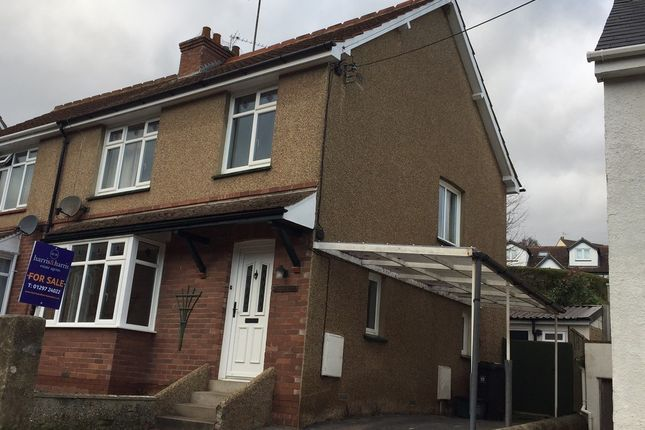 Thumbnail Semi-detached house for sale in Marmora Terrace, Clapps Lane, Beer, Seaton