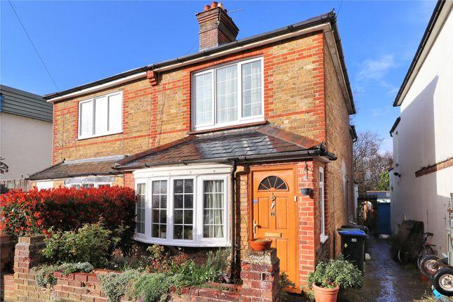 Thumbnail Semi-detached house for sale in Copse Road, Woking, Surrey