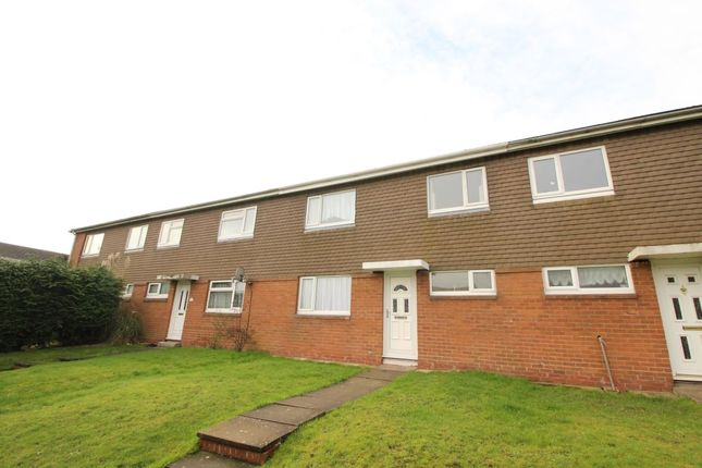 Thumbnail Terraced house to rent in Crossley Walk, Bromsgrove