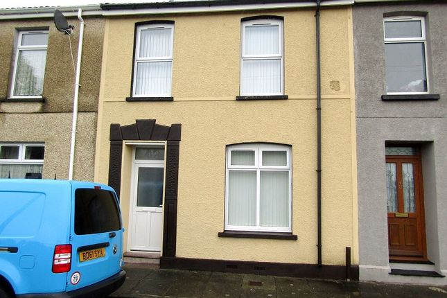 New Dock Street, Llanelli, Carmarthenshire. SA15
