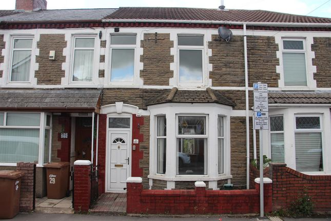 Thumbnail Terraced house for sale in St. Fagans Street, Caerphilly