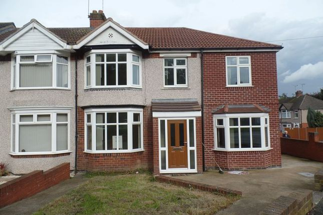 Front Elevation of Templar Avenue, Coventry CV4
