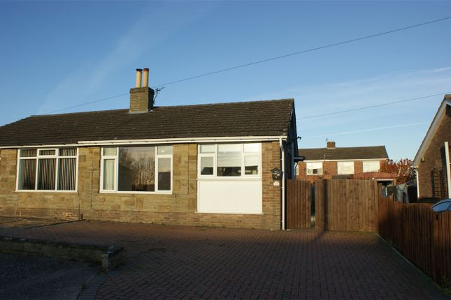 Thumbnail Semi-detached bungalow for sale in St Abbs Walk, Wibsey, West Yorkshire