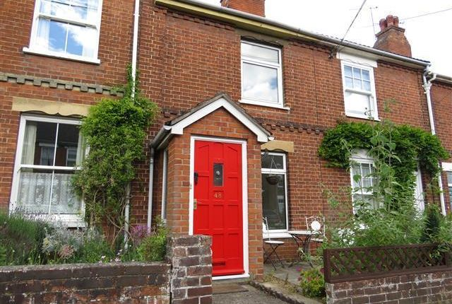 Thumbnail Terraced house to rent in Fredericks Road, Beccles