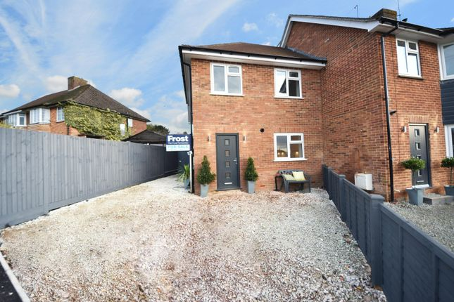 Thumbnail End terrace house for sale in Waborne Road, Bourne End