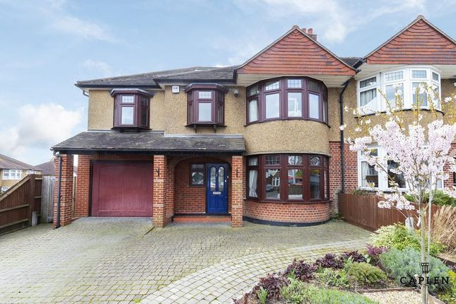 Thumbnail Semi-detached house for sale in Beresford Drive, Woodford Green