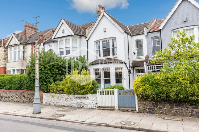 Thumbnail Terraced house to rent in Tetherdown, London