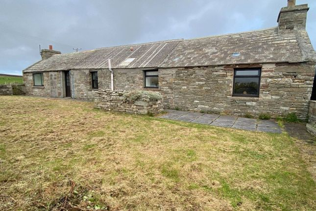 Thumbnail Cottage for sale in Galtyha', Eday, Orkney