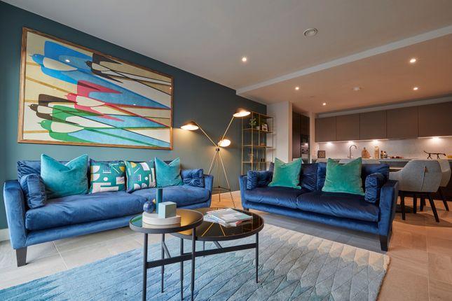 Stylish Lounge  of Angel Gardens, Manchester M4