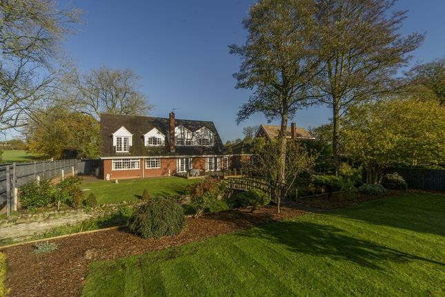 Thumbnail Detached house for sale in Horsebrook Hall Lane, Brewood, Stafford