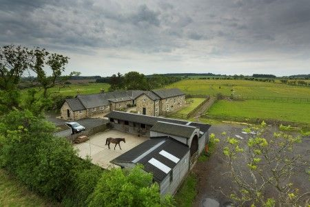 Thumbnail Equestrian property for sale in West Moor Farm And Cottage, Longhorsley, Morpeth, Northumberland