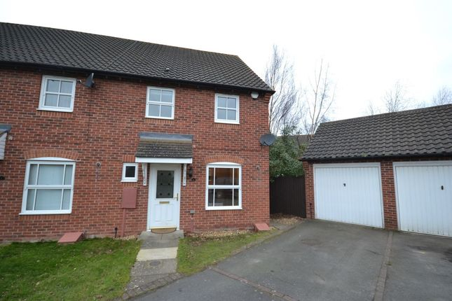 Thumbnail Terraced house to rent in Keepers Close, Grange Park, Northampton