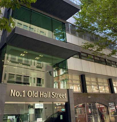 No.1 Old Hall Street Entrance