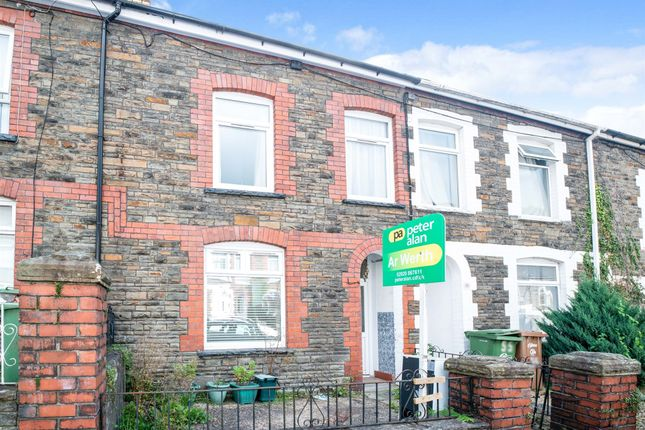 3 bed terraced house for sale in School Street, Llanbradach, Caerphilly CF83