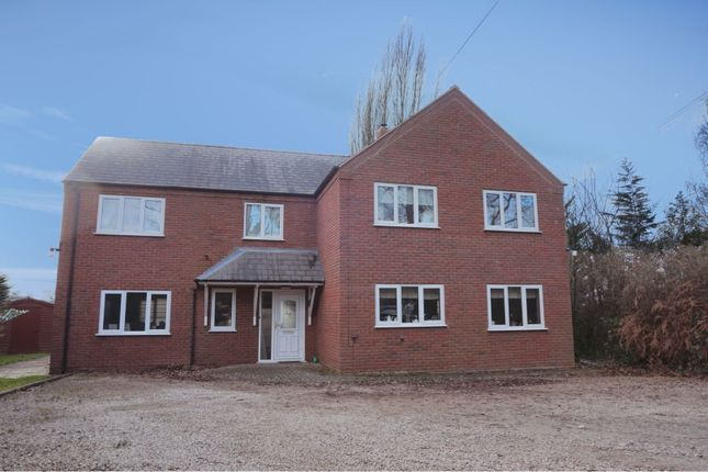 Thumbnail Detached house for sale in Forden, Welshpool