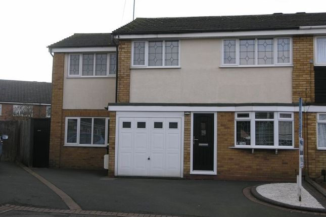 Thumbnail Semi-detached house for sale in Forth Way, Halesowen