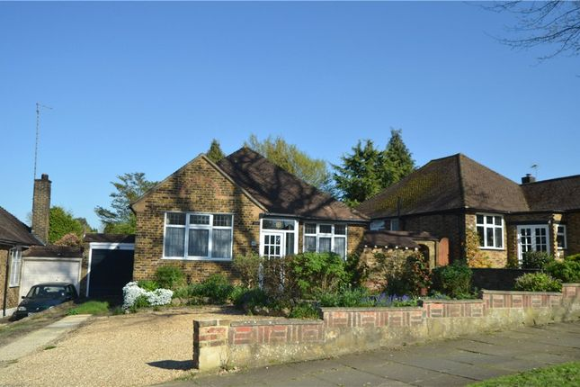 Thumbnail Detached bungalow for sale in St. Lawrence Drive, Pinner, Middlesex
