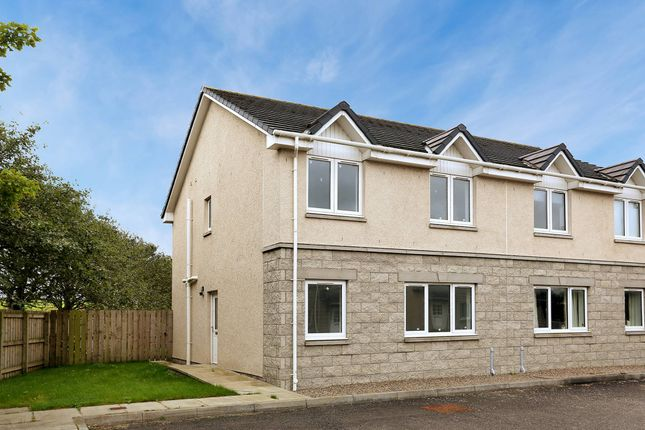 Thumbnail Semi-detached house for sale in Station Place, Hatton, Peterhead