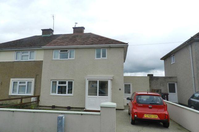 Thumbnail Semi-detached house for sale in Haroldston Close, Haverfordwest, Pembrokeshire