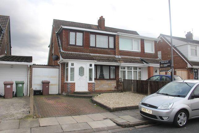 Thumbnail Semi-detached house for sale in Bideford Avenue, Sutton Leach, St. Helens