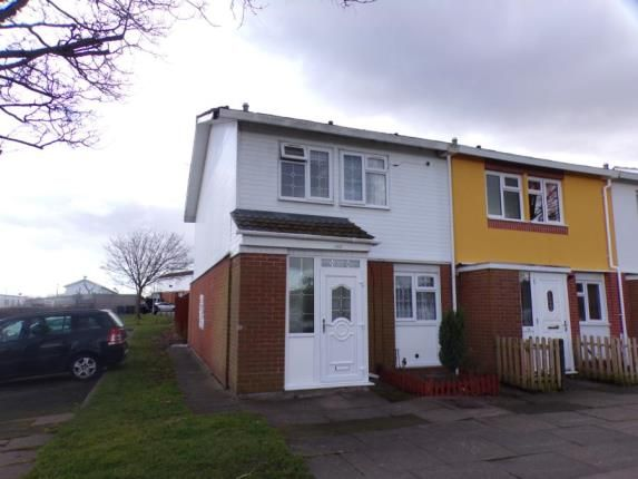 Thumbnail End terrace house for sale in Flyford Close, Redditch, Worcestershire