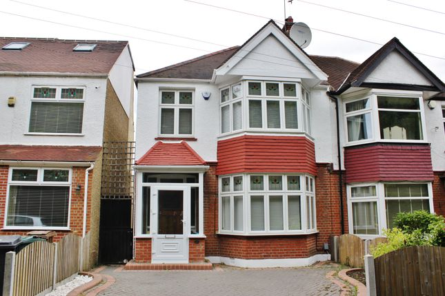 Thumbnail Semi-detached house for sale in Forest Drive, Woodford Green, Essex