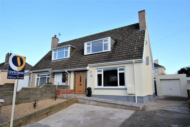 Thumbnail Semi-detached house for sale in Highmeadow, Llantwit Major