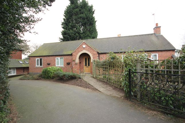 Thumbnail Detached bungalow for sale in The Green, Mickleover, Derby