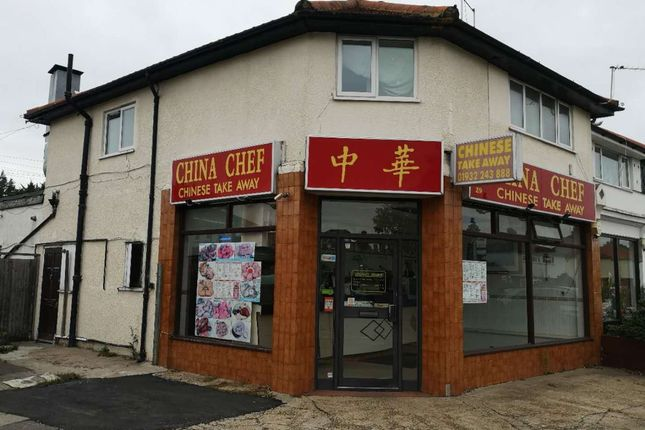 Thumbnail Restaurant/cafe for sale in A Molesey Road, Hersham, Walton-On-Thames