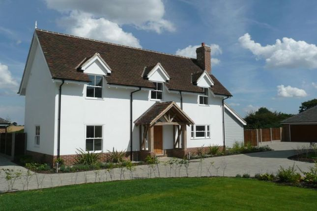 Thumbnail Detached house for sale in The Paddock, Rettendon Common, Chelmsford