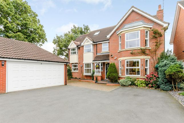 Thumbnail Detached house for sale in Cherrington Way, Solihull