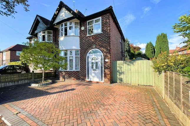 Thumbnail Semi-detached house for sale in Langdale Road, Sale