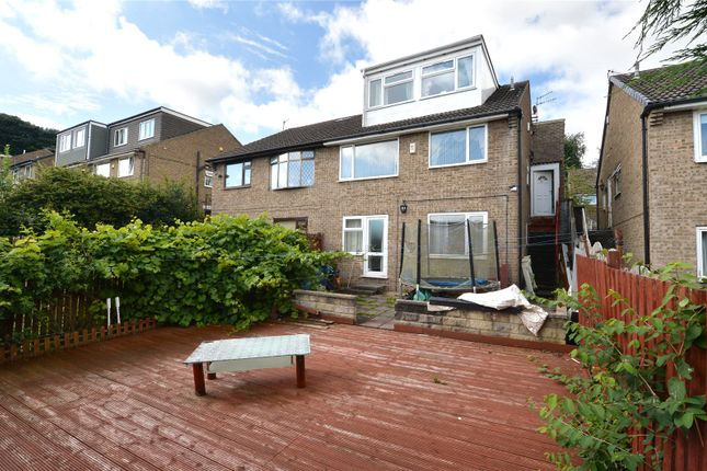 Thumbnail Semi-detached house for sale in Grey Friar Walk, Bradford, West Yorkshire