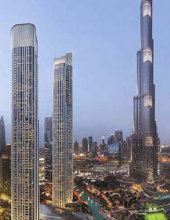 Thumbnail Apartment for sale in Il Primo - Opera District, Dubai, United Arab Emirates