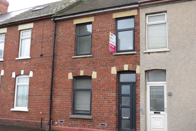 Thumbnail Terraced house for sale in Clive Road, Barry