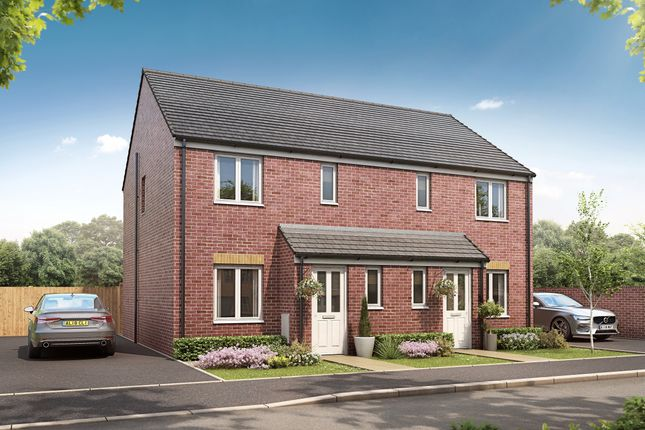 """3 bed semi-detached house for sale in """"The Barton"""" at Heol Stradling, Coity, Bridgend CF35"""