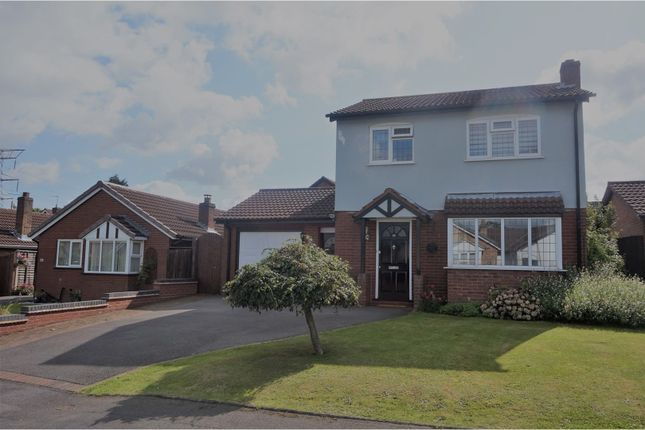 Thumbnail Detached house for sale in Burnthurst Crescent, Solihull
